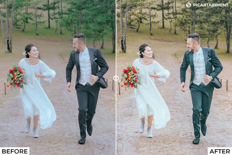 101 Wedding Premium Lightroom Presets - comparision 31 -