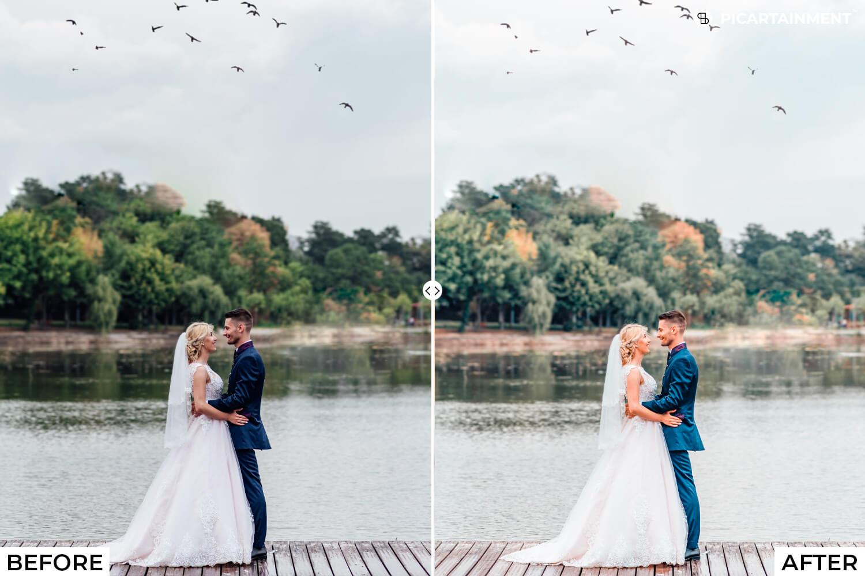 101 Wedding Premium Lightroom Presets - comparision 33 -