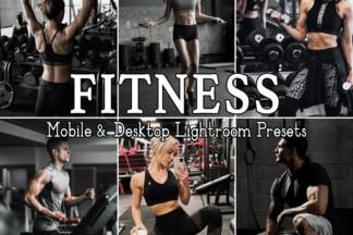 Fitness Lightroom Presets - FITNESS -