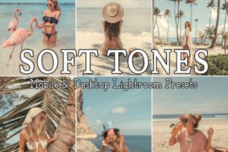 Fitness Lightroom Presets - SOFT TONES -