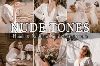 Fitness Lightroom Presets - NUDE TONES -