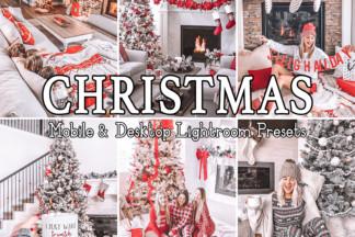 Fitness Lightroom Presets - CHRISTMAS -