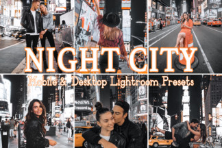Fitness Lightroom Presets - NIGHT CITY -