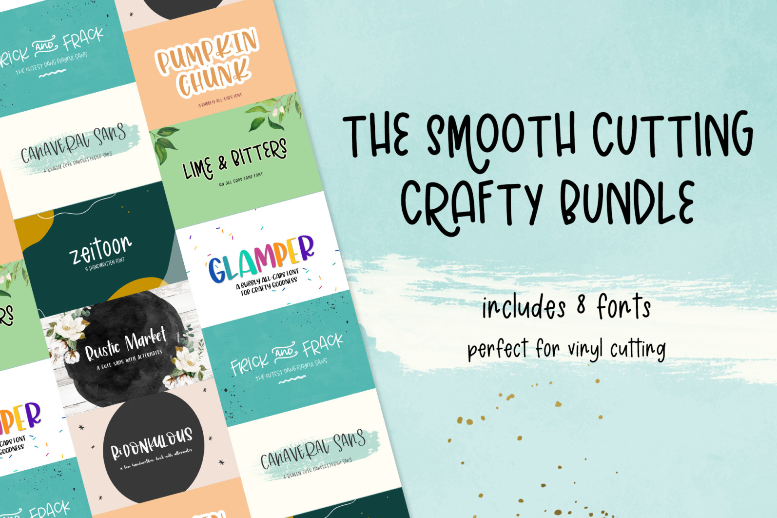 The Smooth Crafting Font Bundle - 1 85 -