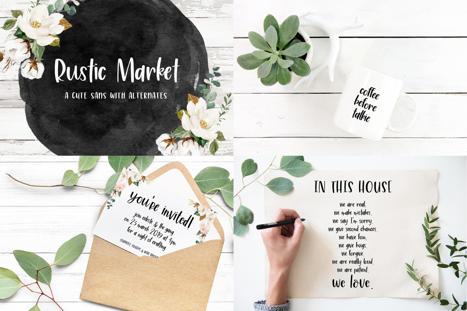 The Smooth Crafting Font Bundle - 8 54 -