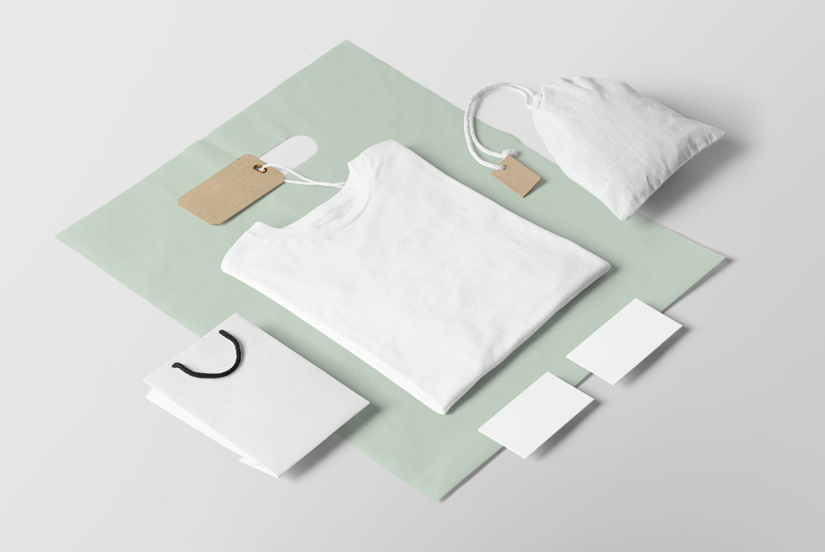 Clothing & T-shirt PSD Mockup - E0000 01 3 -