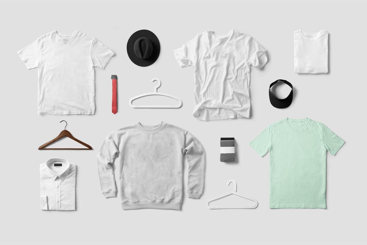 Clothing & T-shirt PSD Mockup - E0000 06 3 -