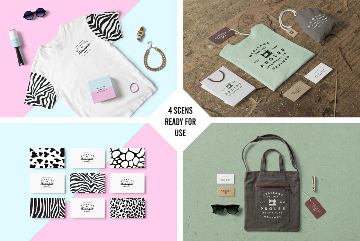 Clothing & T-shirt PSD Mockup - E0000 08 3 -