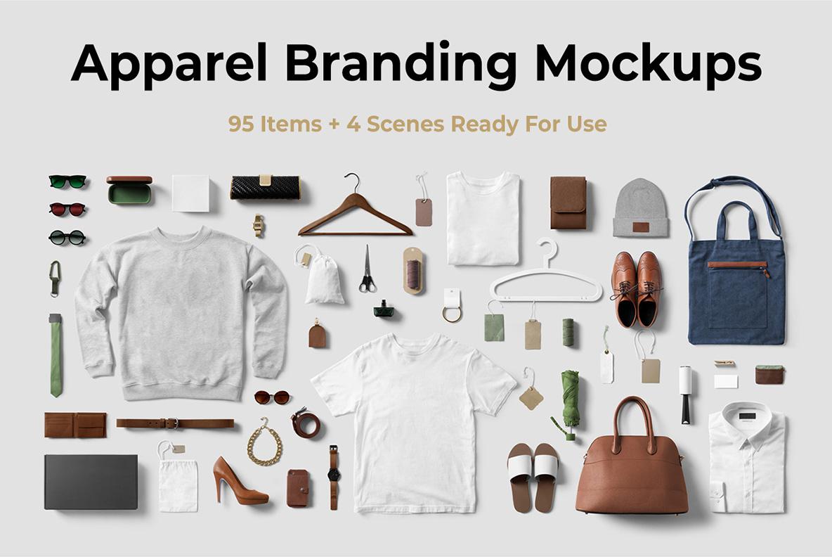 Clothing & T-shirt PSD Mockup - miniatura12 -