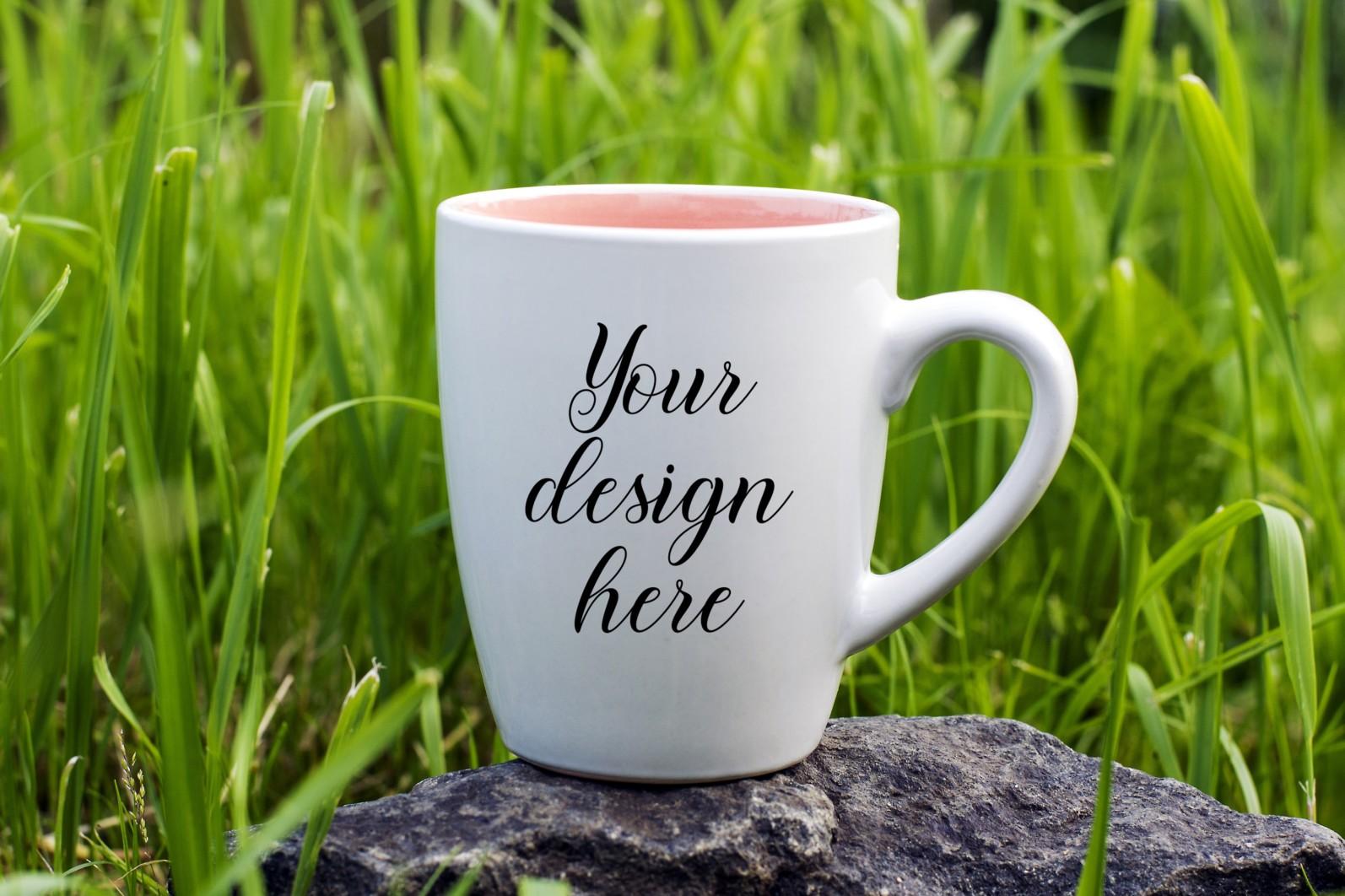 Coffee mug mockup bundle. Mug template bundle. PSD, JPEG files. - 1 1 4 scaled -