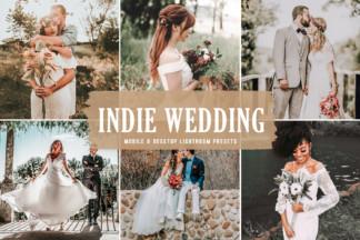 Crella Subscription - Indie Wedding Mobile Desktop Lightroom Presets Cover -