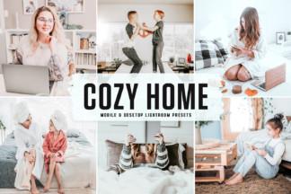Crella Subscription - Cozy Home Mobile Desktop Lightroom Presets Cover -
