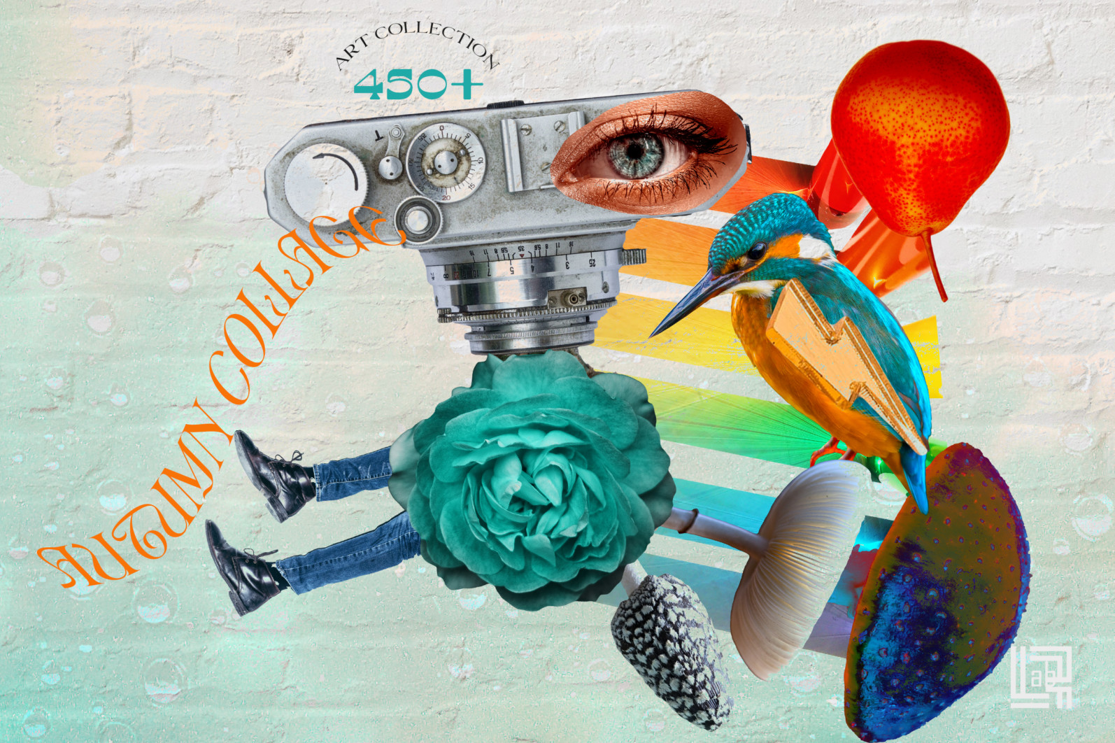 Autumn Collage. Surrealism - CM Autumn collage 1 -