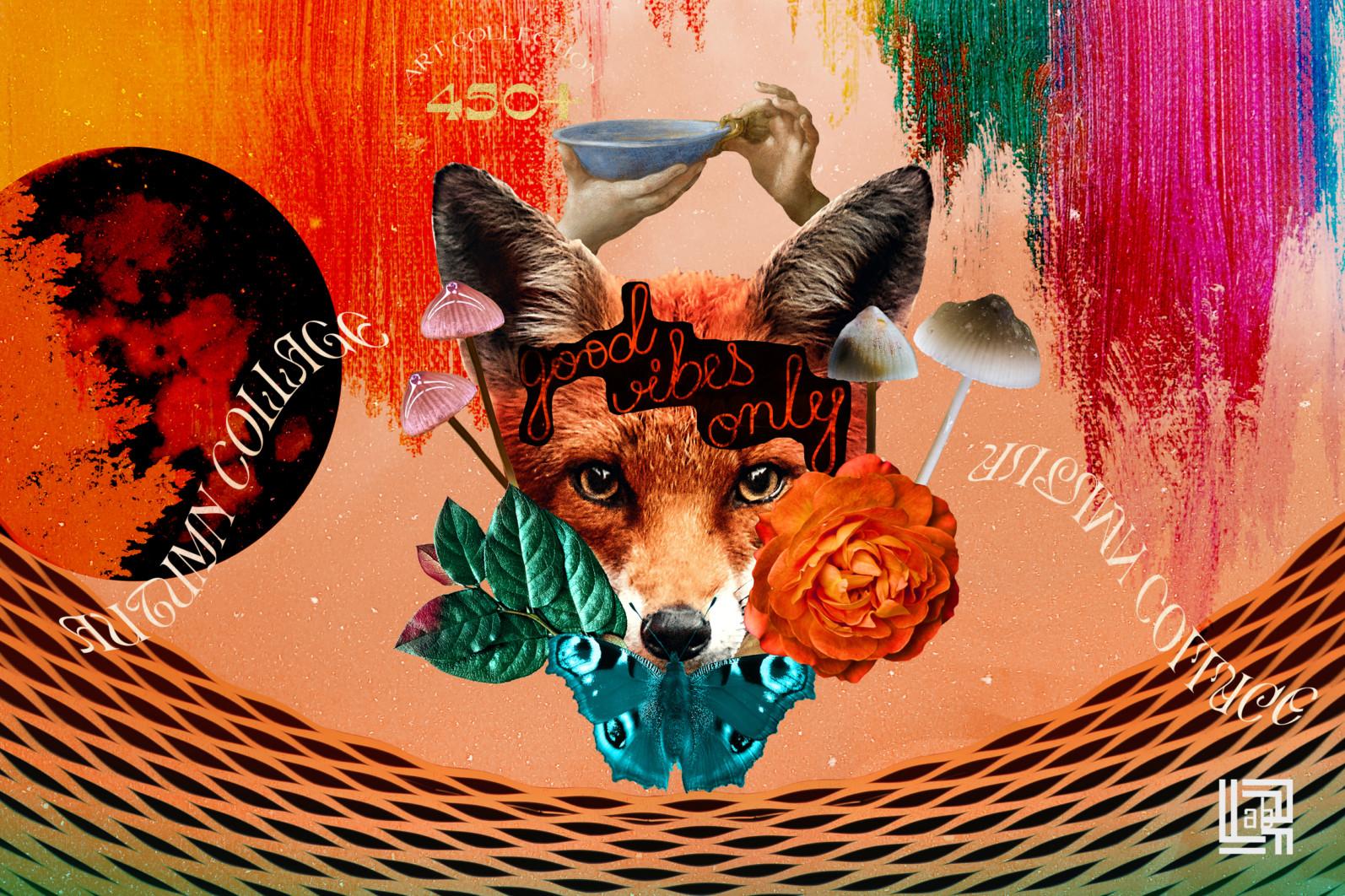 Autumn Collage. Surrealism - CM Autumn collage 2 -