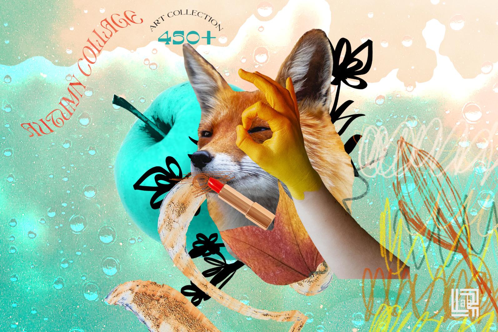 Autumn Collage. Surrealism - CM Autumn collage 4 -