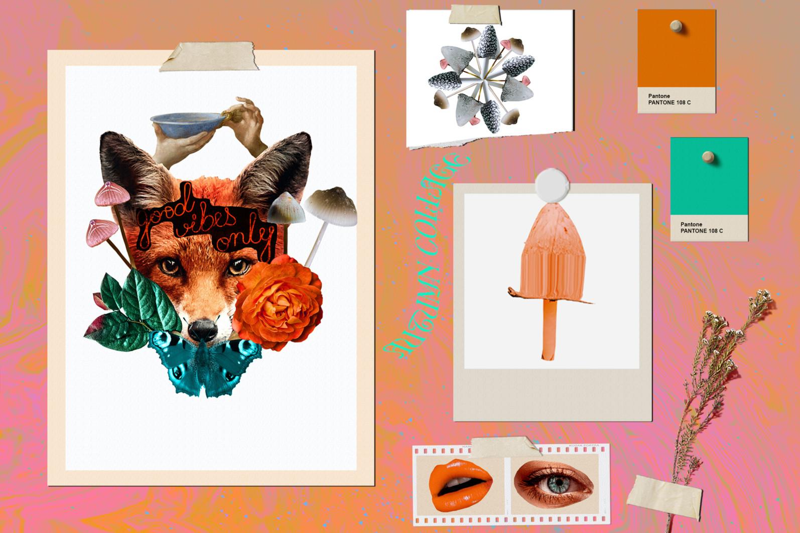 Autumn Collage. Surrealism - CM presentation 10 -