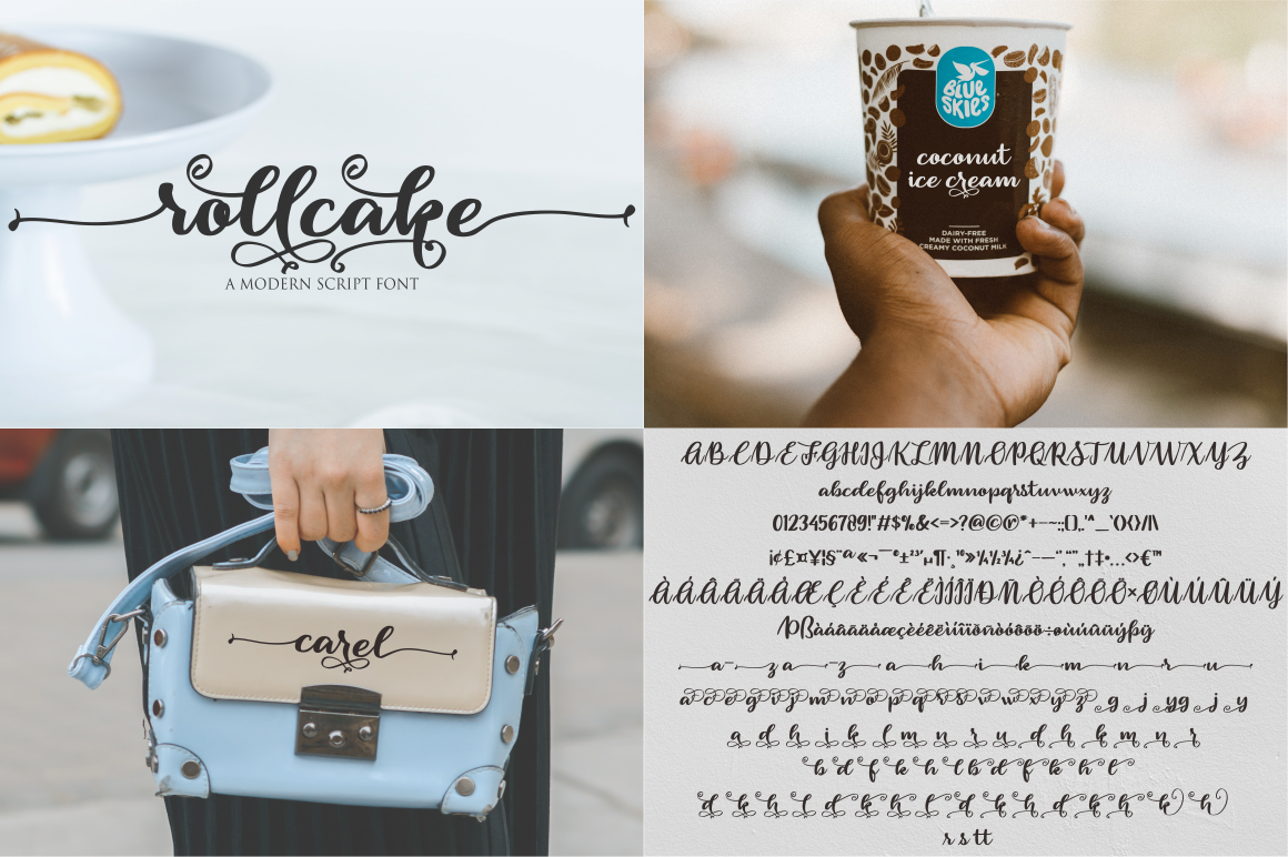 Swashy Font Bundle - Font Bundle 30 -