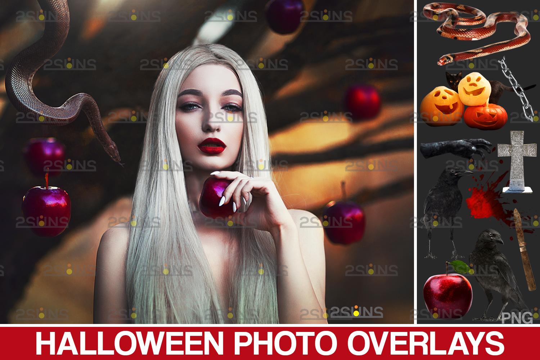 Halloween clipart & Halloween overlay, chains apple overlay, Blood splatter, Pumpkin overlay, snake - 001 6 -