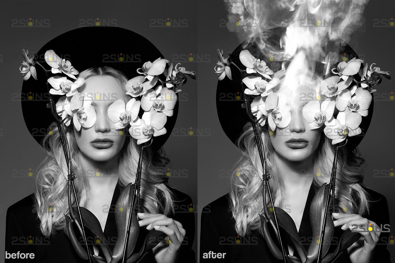 Smoke bomb overlay & Photoshop overlay: Smoke overlay, bombs, Gender reveal overlay, Smoke , Fog - 004 7 -