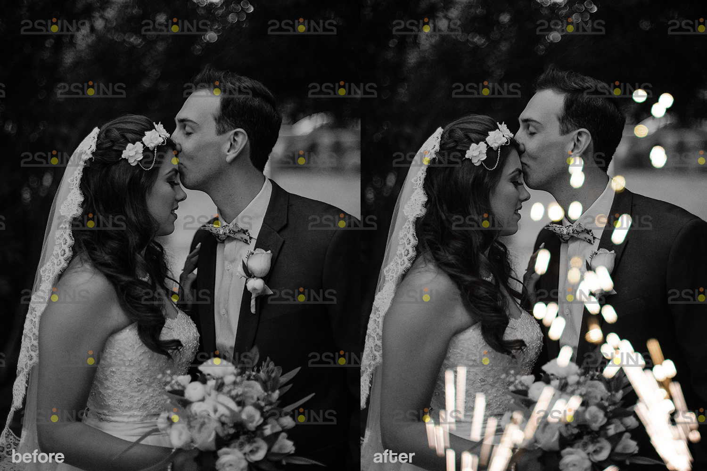 Sparkler overlay & Gold overlay, Fairy lights overlay, Wedding sparkler overlays, Bokeh lights, - 004 25 -