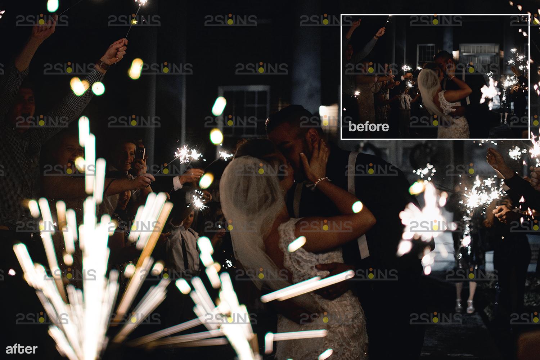 Sparkler overlay & Gold overlay, Fairy lights overlay, Wedding sparkler overlays, Bokeh lights, - 006 24 -