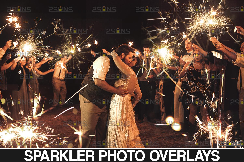 Sparkler overlay & wedding sparkler overlays, wedding overlay, circle light effect photoshop, bokeh - 001 28 -