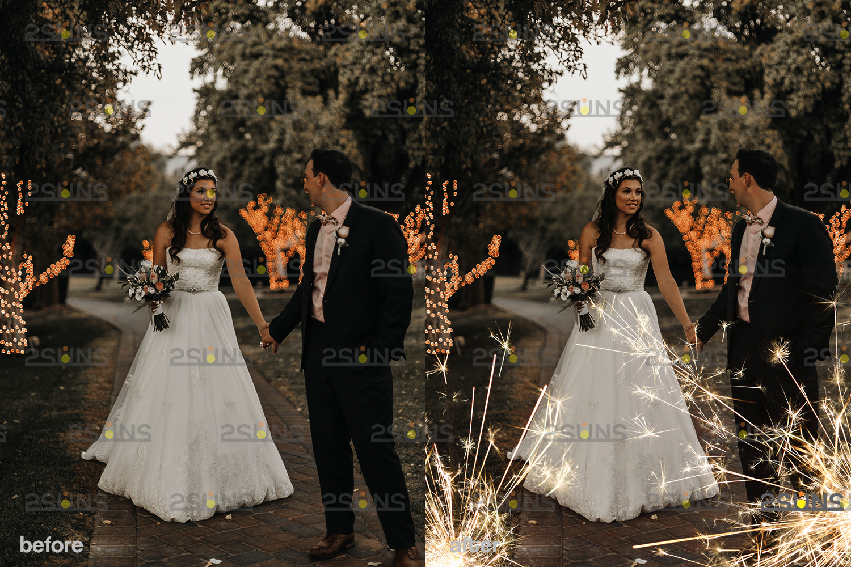 Sparkler overlay & wedding sparkler overlays, wedding overlay, circle light effect photoshop, bokeh - 003 31 -