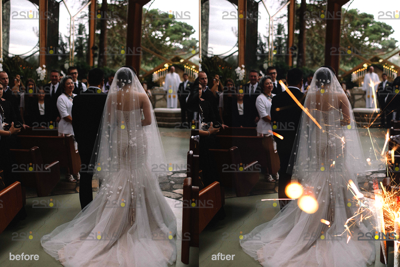 Sparkler overlay & wedding sparkler overlays, wedding overlay, circle light effect photoshop, bokeh - 005 27 -