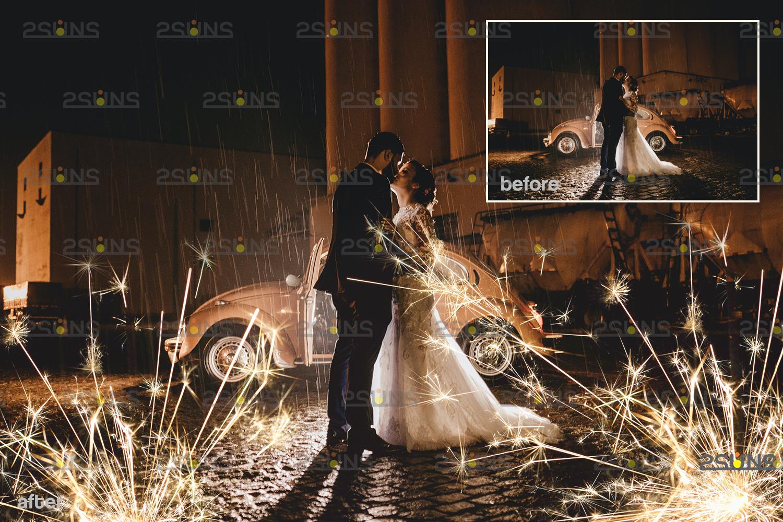 Sparkler overlay & wedding sparkler overlays, wedding overlay, circle light effect photoshop, bokeh - 006 26 -