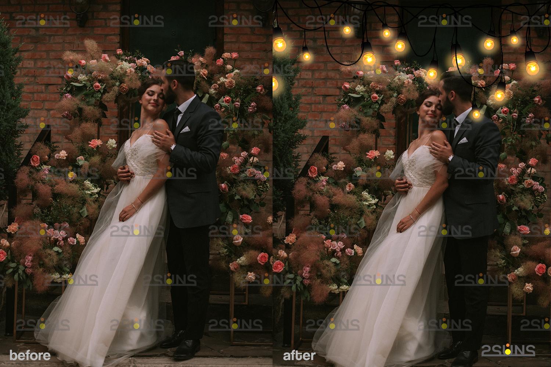 String lights overlay photoshop & Sparkler overlay, String light overlay, Christmas light overlay - 004 30 -
