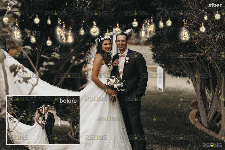 String lights overlay photoshop & Sparkler overlay, String light overlay, Christmas light overlay - 009 25 -