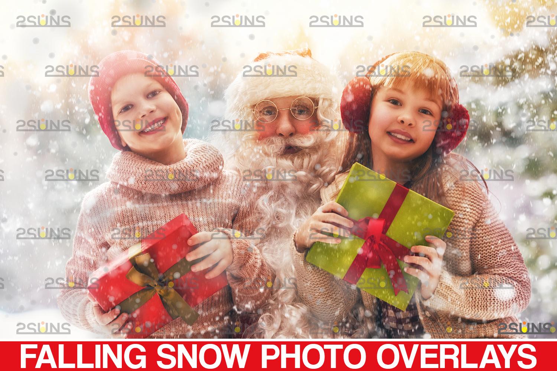 Snow flake overlays & Photoshop overlay: Falling Snow overlay, Winter overlays, Snow white clipart - 001 34 -