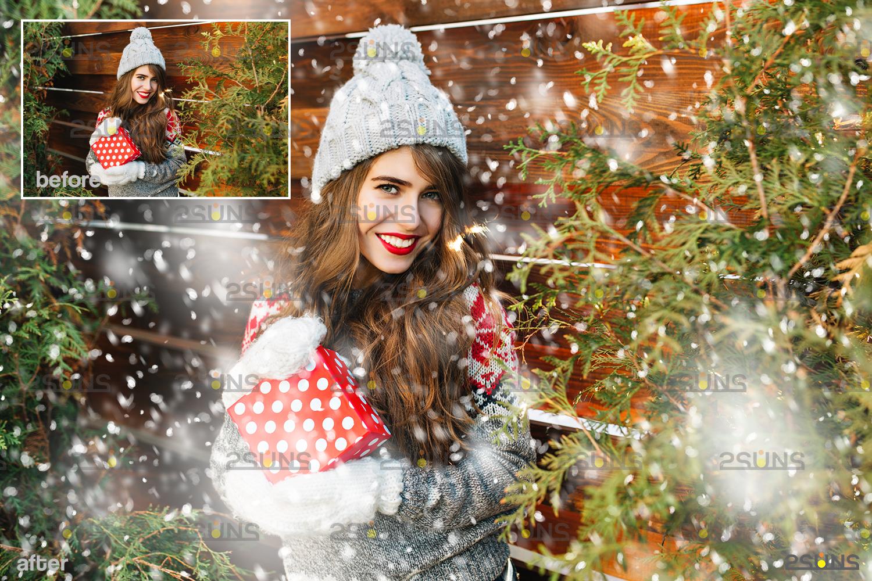 Snow flake overlays & Falling Snow overlay, Winter overlays, Snow white clipart, snow flake clip art - 003 39 -