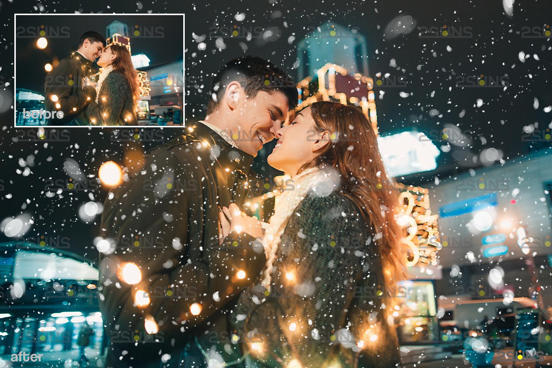 Snow flake overlays & Falling Snow overlay, Winter overlays, Snow white clipart, snow flake clip art - 006 34 -