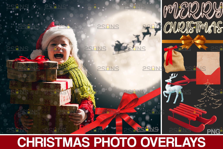 Sparkler overlay & Photoshop overlay, Christmas word overlay, Santa overlay, Christmas overlays - 001 40 -