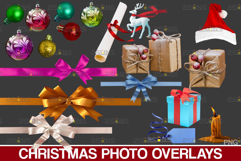 Sparkler overlay & Photoshop overlay, Christmas word overlay, Santa overlay, Christmas overlays - 002 41 -
