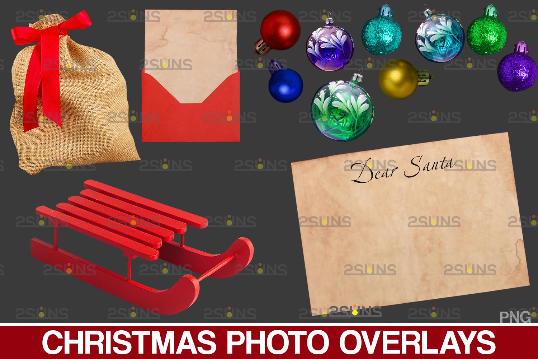 Sparkler overlay & Photoshop overlay, Christmas word overlay, Santa overlay, Christmas overlays - 003 45 -