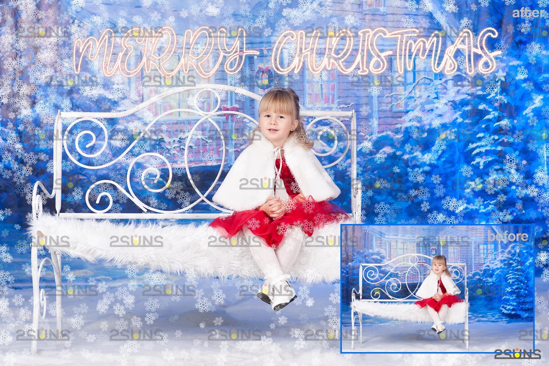 Sparkler overlay & Photoshop overlay, Christmas word overlay, Santa overlay, Christmas overlays - 006 40 -