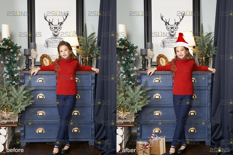 Sparkler overlay & Photoshop overlay, Christmas word overlay, Santa overlay, Christmas overlays - 007 39 -