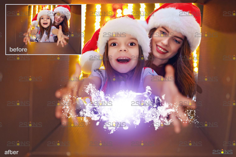 Christmas light overlay & Digital gold overlay: Photoshop overlay, Lamp light png files - 004 53 -