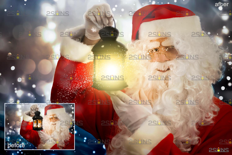 Christmas light overlay & Digital gold overlay: Photoshop overlay, Lamp light png files - 005 52 -