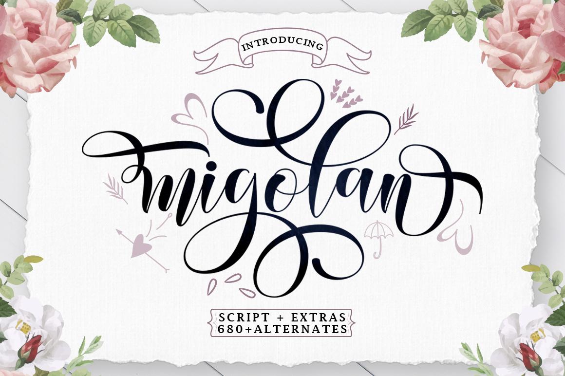 Migolan Script - 1 216 -