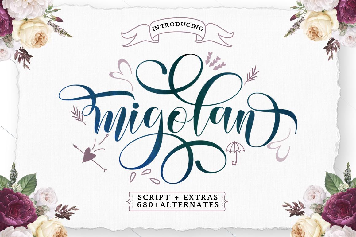 Migolan Script - 10 53 -