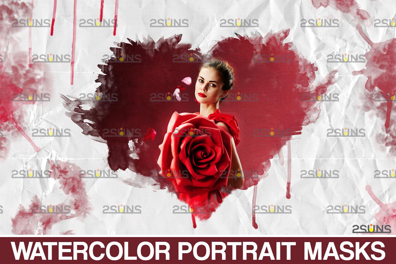Watercolor overlay & Photoshop overlay: Mothers day overlay, Photoshop watercolor brushes, Maternity - 001 68 -