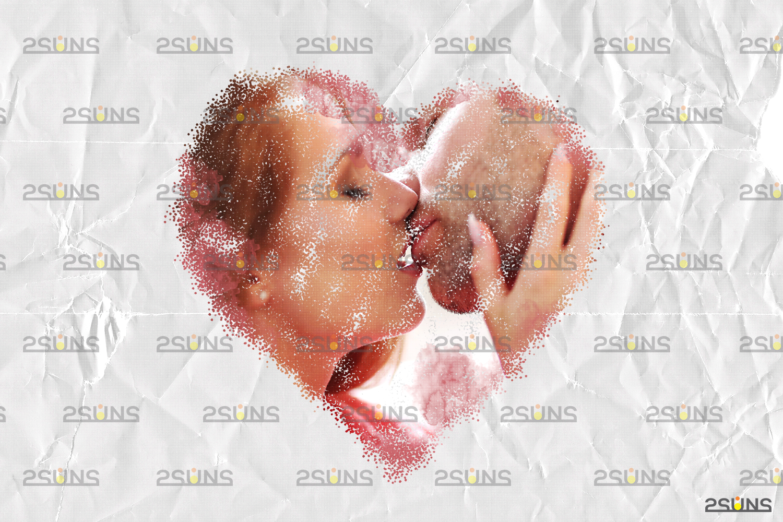 Watercolor overlay & Photoshop overlay: Mothers day overlay, Photoshop watercolor brushes, Maternity - 009 53 -