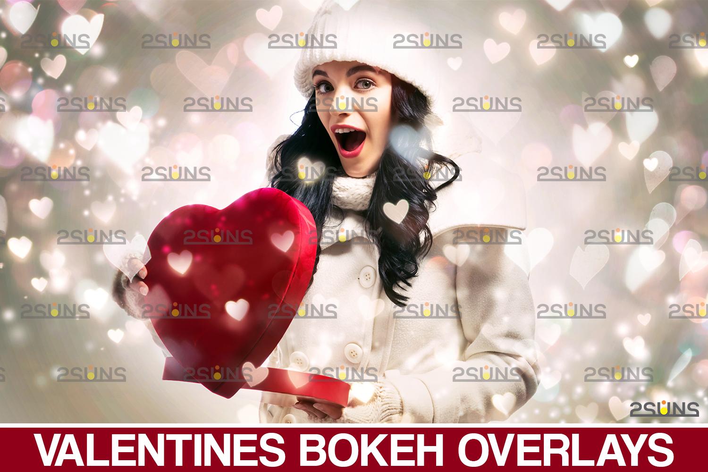 Valentine day overlay & Photoshop overlay, Valentine overlay, Heart backdrop, Valentine backdrop - 001 69 -