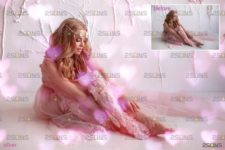 Valentine day overlay & Photoshop overlay, Valentine overlay, Heart backdrop, Valentine backdrop - 002 71 -