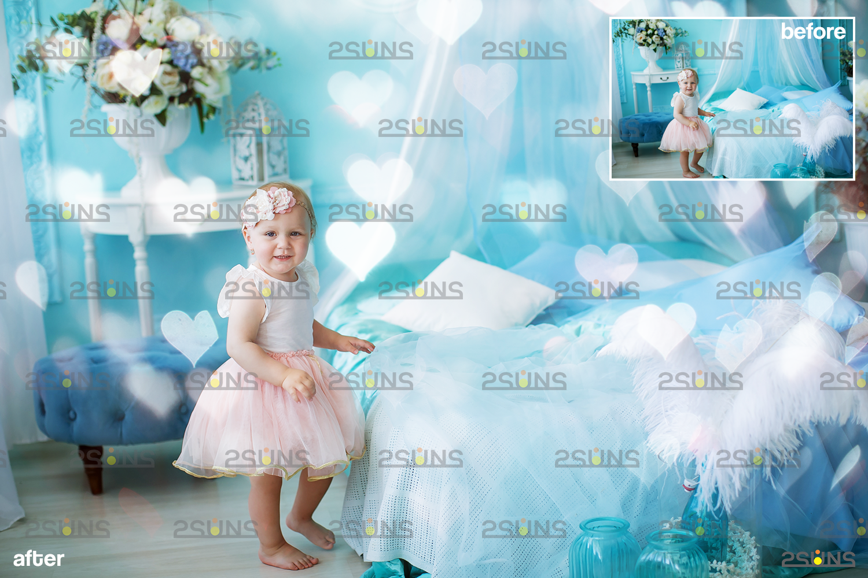 Valentine day overlay & Photoshop overlay, Valentine overlay, Heart backdrop, Valentine backdrop - 003 75 -
