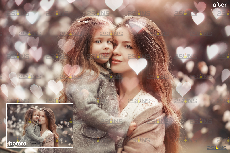 Valentine day overlay & Photoshop overlay, Valentine overlay, Heart backdrop, Valentine backdrop - 005 67 -