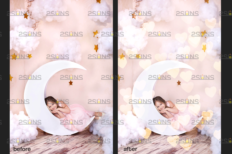 Valentine overlay & Photoshop overlay, Bokeh,Valentine digital, Valentine clipart,valentines day png - 005 72 -